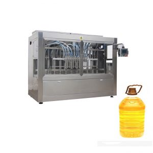 全自动芥末棕榈食用油灌装包装机